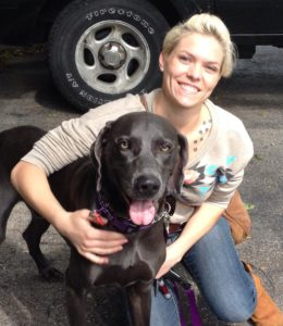 milwaukee dog sitter stephanie